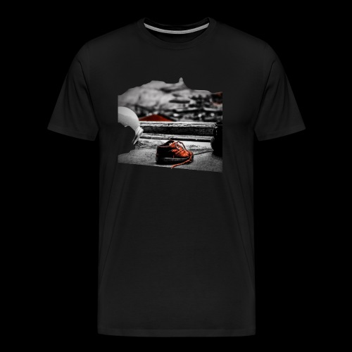 sko - Premium-T-shirt herr