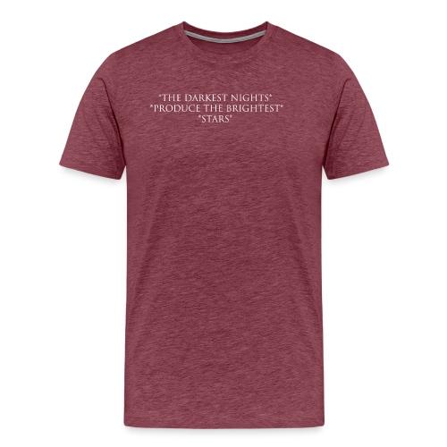 Night_W - Premium-T-shirt herr