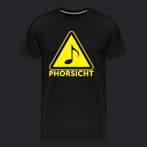 Pulli-schwarz-hinten - Männer Premium T-Shirt