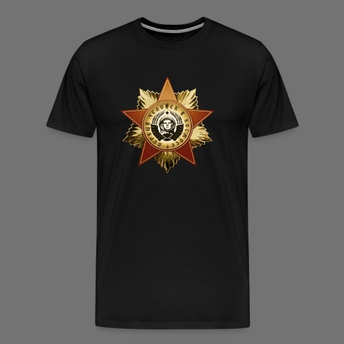 Kosmonautti mitali - Miesten premium t-paita