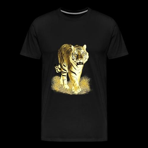 Golden Tiger - Männer Premium T-Shirt