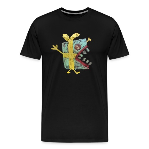 cadeautje monster - Mannen Premium T-shirt