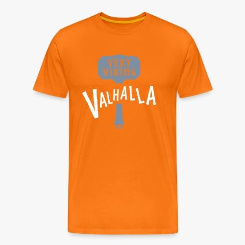 Valhalla - Very Viking - Herre premium T-shirt