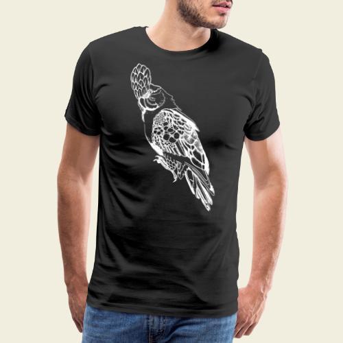 Kakadu weiß - Männer Premium T-Shirt