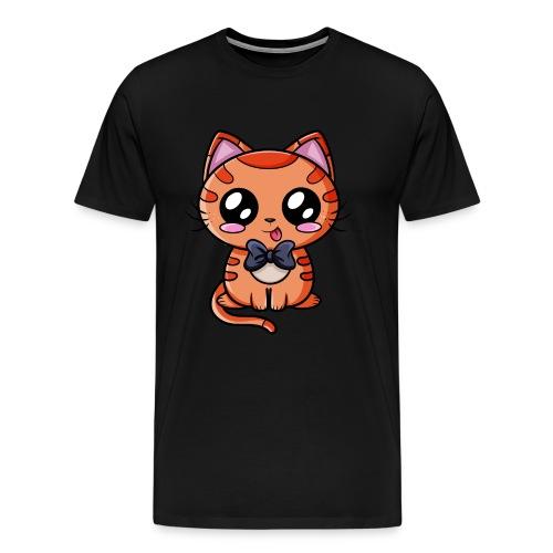 Chat Kawaii ! - T-shirt Premium Homme