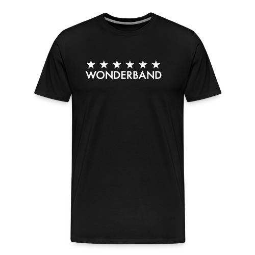 wonderbandtextlegacy - Premium-T-shirt herr
