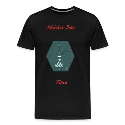 Shisha Bar Time - Men's Premium T-Shirt