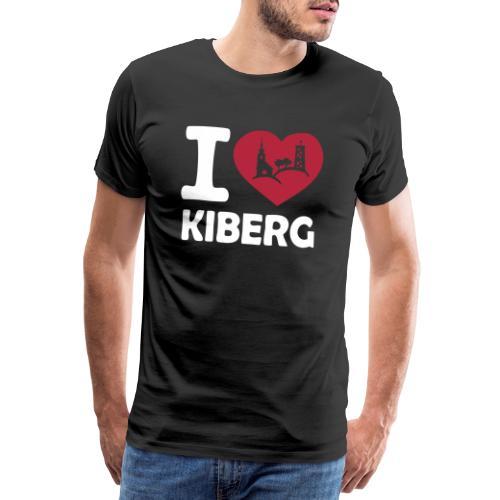 I love Kiberg - Männer Premium T-Shirt