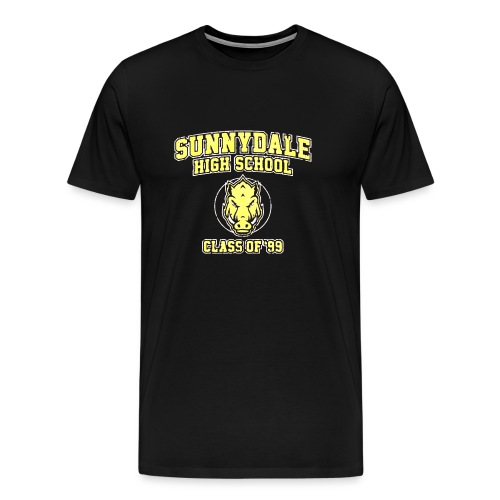 Sunnydale High School logo merch - Maglietta Premium da uomo