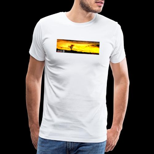Burning Tree - Men's Premium T-Shirt