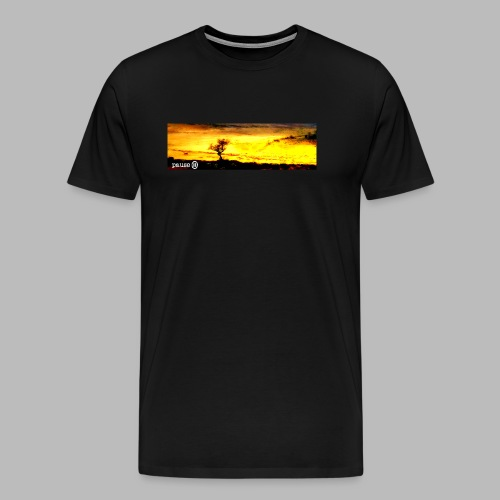 Burning Tree 2 - Men's Premium T-Shirt