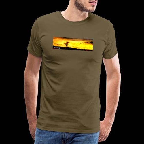 Burning Tree - Men's Premium T-Shirt