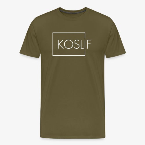 Koslif White - Men's Premium T-Shirt