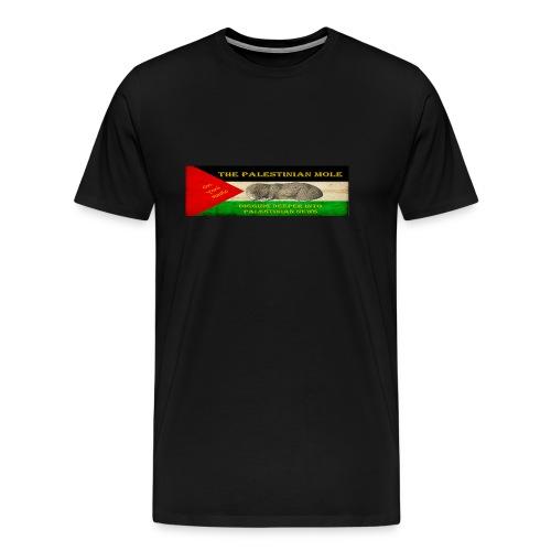 The Palestinian Mole - Men's Premium T-Shirt