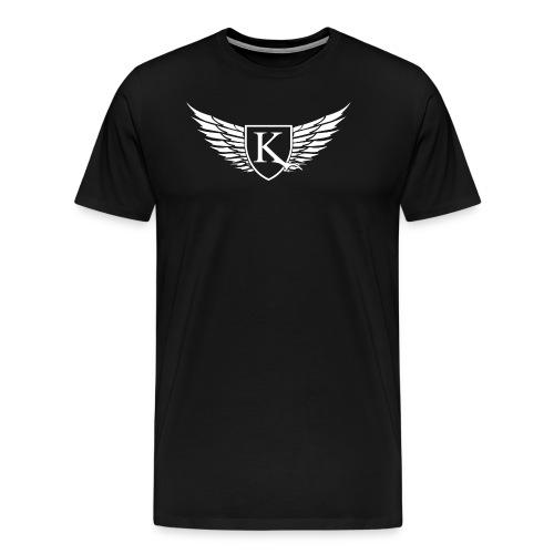 K-Wings white - Männer Premium T-Shirt
