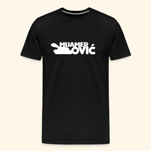 tankovic_vit_tryck - Premium-T-shirt herr
