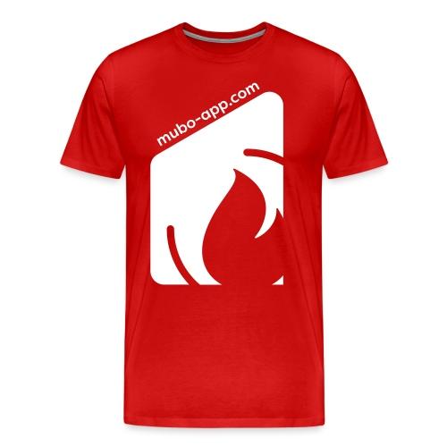 mubo box white - Men's Premium T-Shirt
