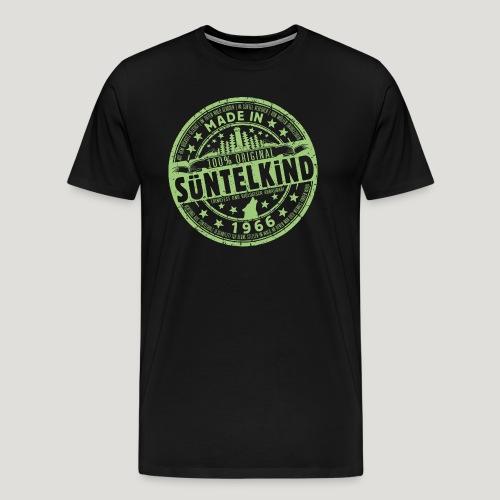 SÜNTELKIND 1966 - Das Süntel Shirt mit Süntelturm - Männer Premium T-Shirt