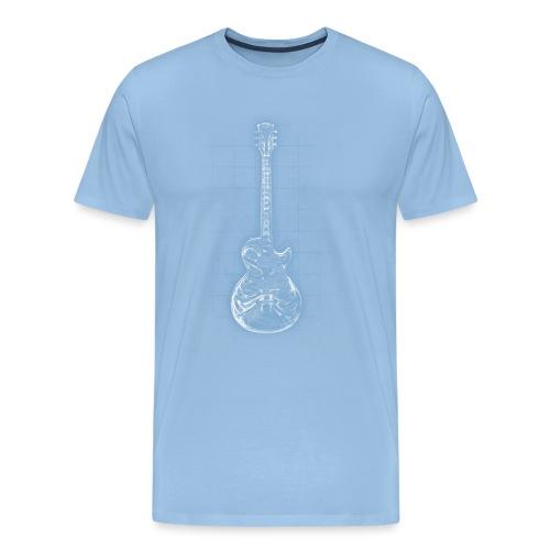 Anatomy of Heart Rock - Männer Premium T-Shirt
