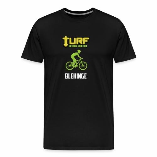 TURF - BLEKINGE - Premium-T-shirt herr