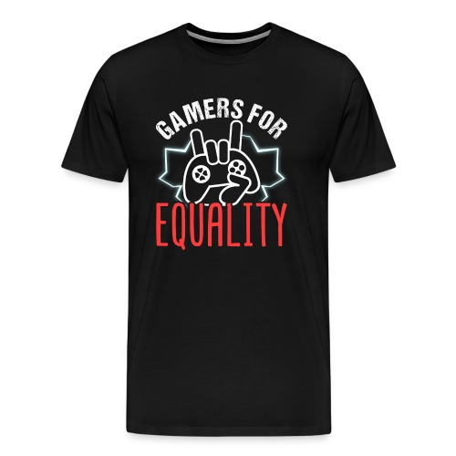 Gamers For Equality - Männer Premium T-Shirt
