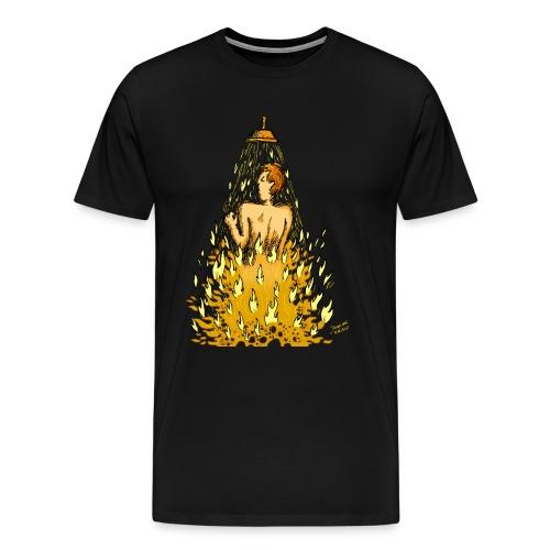 Feuerdusche (Frauen) - Männer Premium T-Shirt