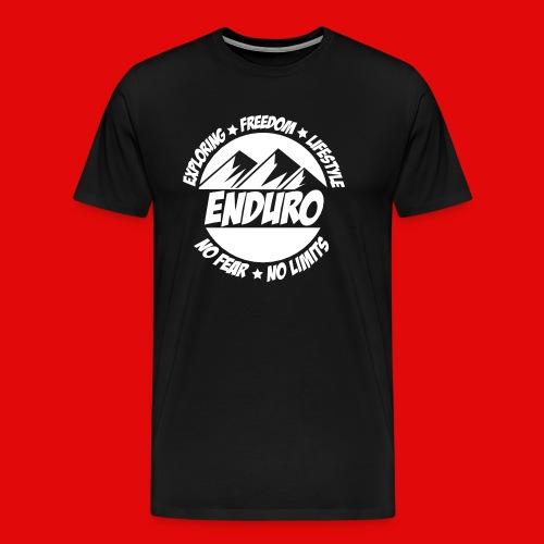 ENDURO LIFE - Männer Premium T-Shirt