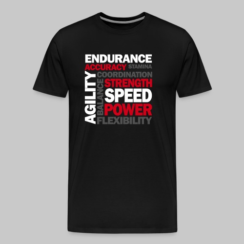 Agility Power - Männer Premium T-Shirt