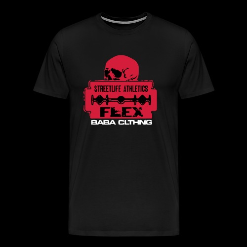 flex klinge - Männer Premium T-Shirt