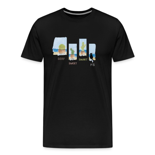 4sFriends - Maglietta Premium da uomo