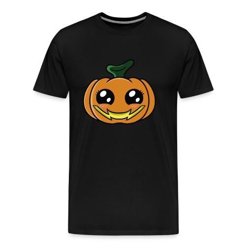 Citrouille d'Halloween Kawaii ! - T-shirt Premium Homme
