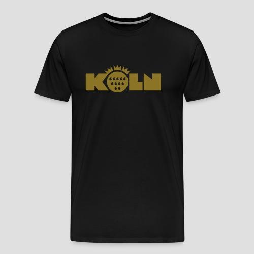 Köln Wappen modern - Männer Premium T-Shirt