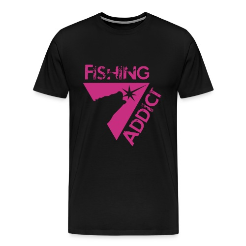 Fishing addict - T-shirt Premium Homme