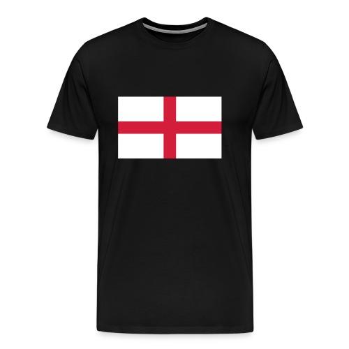 Bandera de Inglaterra / Color personalizable - Men's Premium T-Shirt