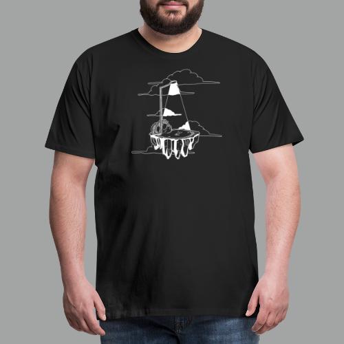 Flying Rock white - Männer Premium T-Shirt