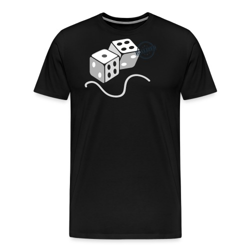 Dice - Symbols of Happiness - Men's Premium T-Shirt