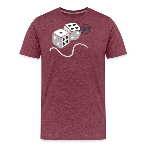 Dice - Symbols of Happiness - Men's Premium T-Shirt