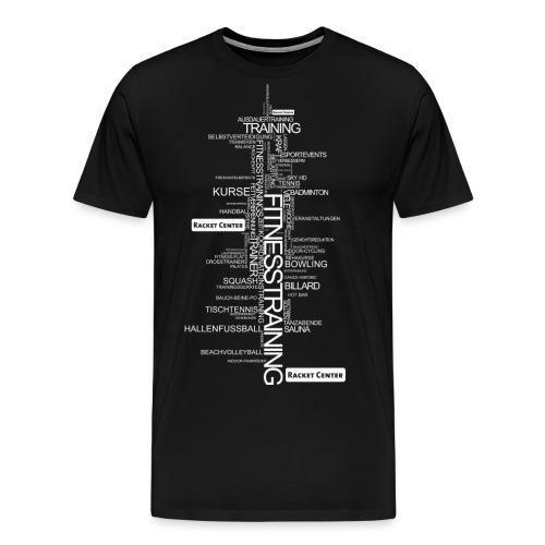 Alles über Fitness Motiv weiß - Männer Premium T-Shirt