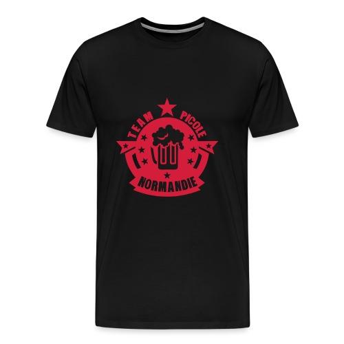 normandie team picole biere logo - T-shirt Premium Homme