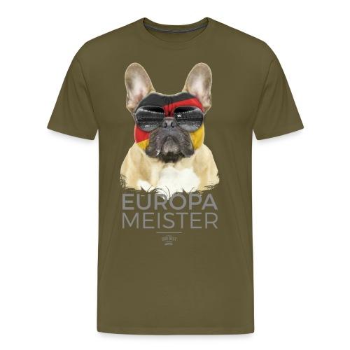 Europameister Deutschland - Männer Premium T-Shirt