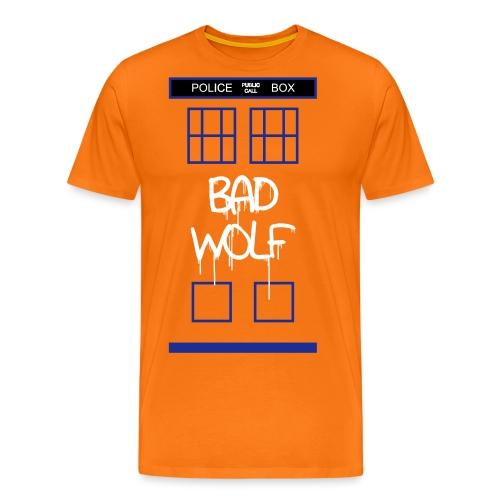 Doctor Who Bad Wolf - Maglietta Premium da uomo