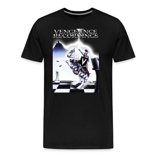 Vengeance Recs T-shirt - Men's Premium T-Shirt