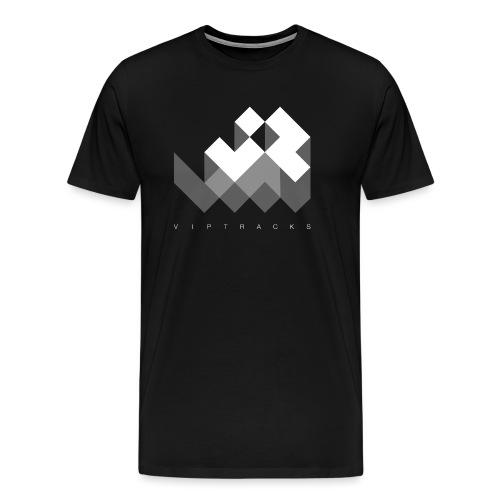LOGO VIPTRACKS RELEASES - Mannen Premium T-shirt