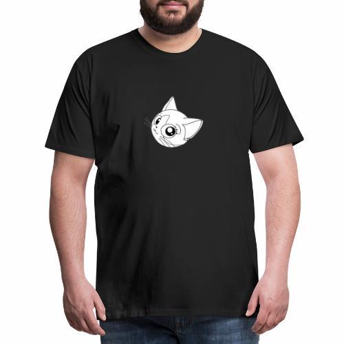 Chat adorable trop mignon kawaii - T-shirt Premium Homme
