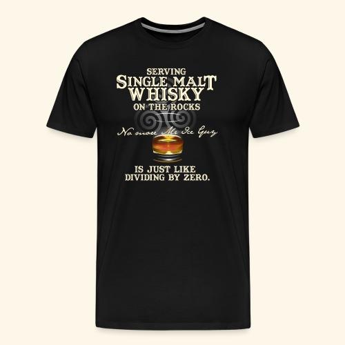 Whisky T-Shirt Single Malt Whisky - Männer Premium T-Shirt