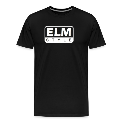 LOGO ELM BLANCO - Camiseta premium hombre