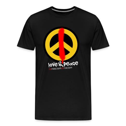 Love & Peace - Männer Premium T-Shirt