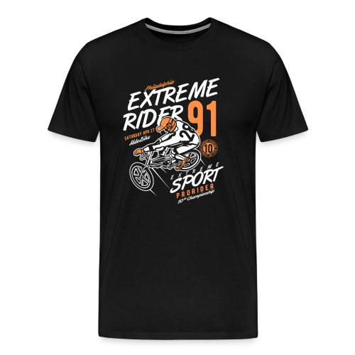 Extreme Rider - Männer Premium T-Shirt