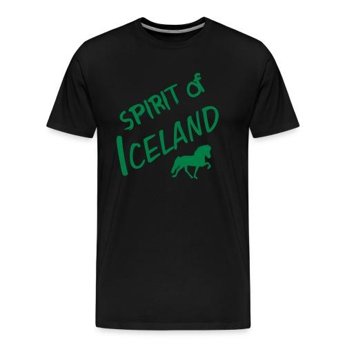 4gaits ruecken - Männer Premium T-Shirt