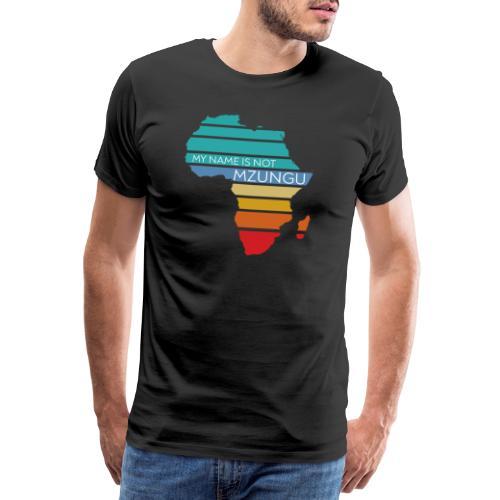 My name is not Mzungu - Mannen Premium T-shirt